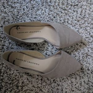 Women's pointed toe Chinese Laundry flats
